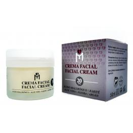 Crema Facial Con ácido Hialurónico Fps20