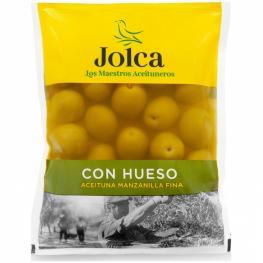 Aceitunas Verde Manzanilla Con Hueso Jolca 100 G.