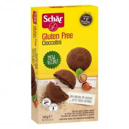 Galletas de Chocolate Con Crema de Cacao Schär Sin Gluten 150 G.