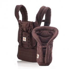 Pack Baby Carrier Mas Reductor Ergobaby Chocolate