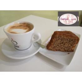 Café + Bizcocho de Nueces