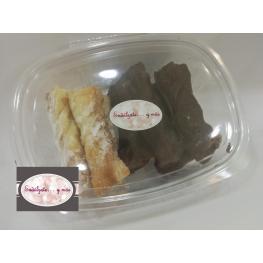 Lazos de Azúcar y Chocolate (Pack 4 Azúcar-4 Chocolate)