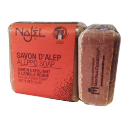 Jabón de Alepo Exfoliante Con Arcilla Roja