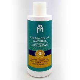 Crema Solar Natural Spf 30