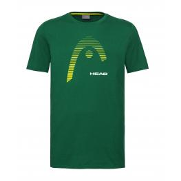 Camiseta Head Club Carl Verde