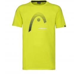 Camiseta Head Club Carl Amarilla