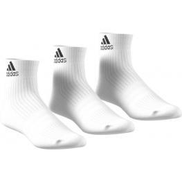 Pack 3 Pares de Calcetines Adidas Blancos