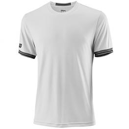 Camiseta Wilson M Team Solid Crew White