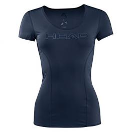 Camiseta Head Essential Azul Marino Women