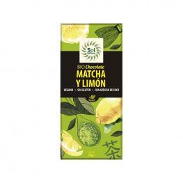 Chocolate Matcha y Limon Bio 70 G