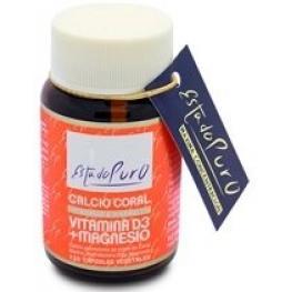 Calcio Coral Vitamina D + Magnesio 120 Cap