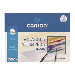 Sobre 6H Papel Acuarela Canson A4 370Gr 200006416
