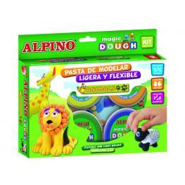Alpino Pasta Modelar Magic Dough 6 Ud 40 G Colores Surtidos Dp000139