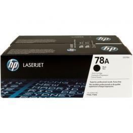 Hewlett Packard Toner Laser 78A Negro Pack 2 4200 Paginas Para P1560 y P1600 Ce278Ad