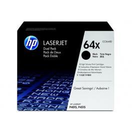 Hewlett Packard Toners Laser 64X Negro Pack 2  Cc364Xd