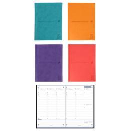 Agenda Oxford Mod. Modern 15X21 Cm Semana/vista Colores 2020