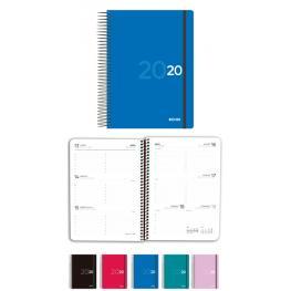 Agenda Enri Colors 15X21 Cm. Tapa Plastico Con Goma Semana/vista