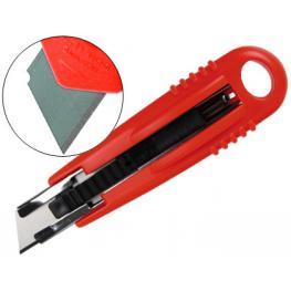 Cutter Seguridad Q-Connect Cuchilla Autoretractil
