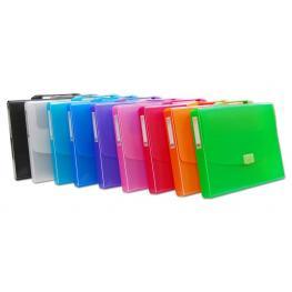 Officebox Maletin Pp A-4 Con Asa color Line Colores