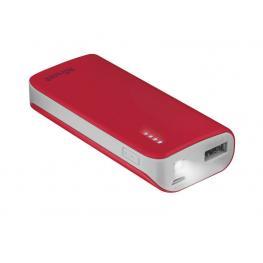 Trust Powerbank 4.400 Mah Para Smartphone/tablet Roja 21226
