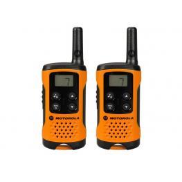 Motorola Walkie-Talkies T41 Pack Naranja/4Km/8 Canales/3Xaaa P14Maa03A1Bj
