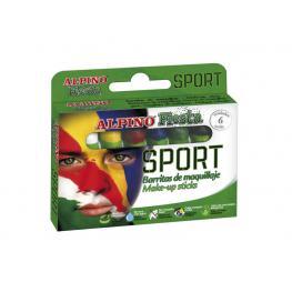Alpino Set Maquillaje Sport En 6 Colores 5 Gr. Dl000011