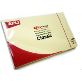 Notas Adhesivas Apli 125X75Mm Amarillo 10976