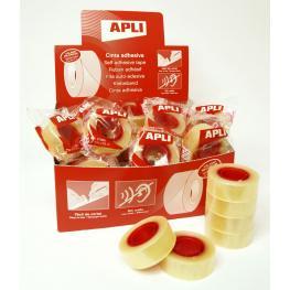 Cinta Adhesiva Transparente Apli 19X33 11103