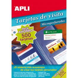 B.Tarjeta Visita Microper. 50H 11705