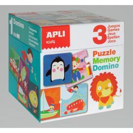 C.Puzzle, Memory & Domino Games 3 U. 13940