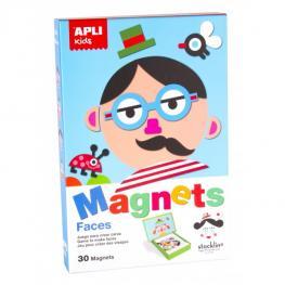 Caja Juego Caras Magneticas 14561