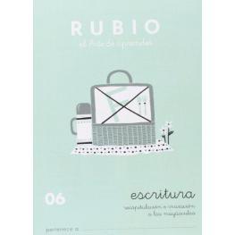 Rubio Cuaderno Escritura Nº 06 C-06
