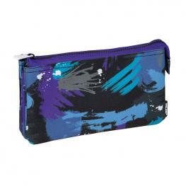 Portatodo 5 Compartimentos Arty Geo Azul Milan