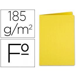 Subcarpeta Liderpapel Folio Amarillo Intenso 185Gr