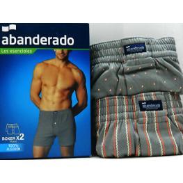 Abanderado Boxer Alg. A0100 Estamp. Azul/rojo T.L/52