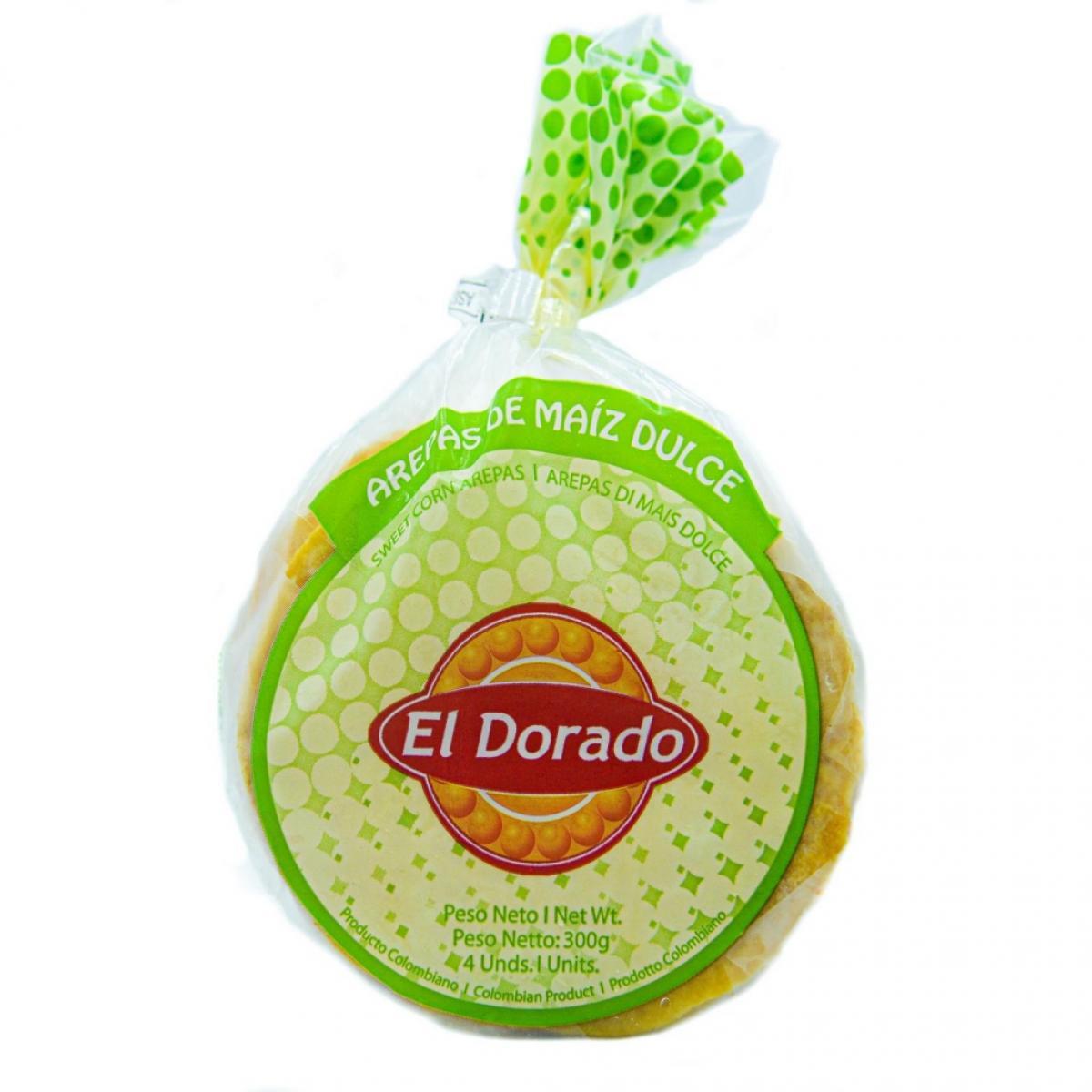 Arepa de choclo El Dorado 4 ud.