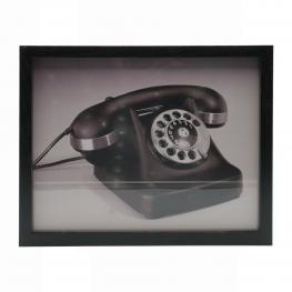 Cuadro 3021 Medidas 20X25 Teléfono Clásico