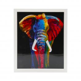 Cuadro 3021 Medidas 20X25 African Picture Elefante