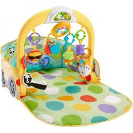 Fisher Price Gimnasio Coche 3*1 Convertible Cars Gym 30 Minutos de Musica y Luces 0+ Meses Dfp07