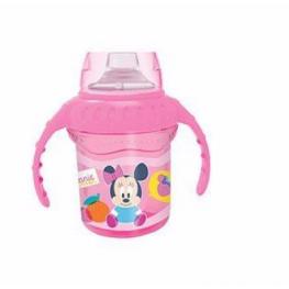 Taza Entrenamiento Boquilla Silicona Minnie Baby