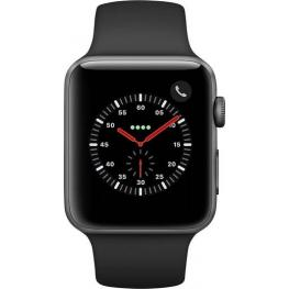 Apple Watch 3 Gps + Cell 42Mm Space Gr. Alu Case Blck Sp. Band