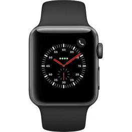 Apple Watch Series 3 Gps Cell 38Mm Grey Alu Black Band