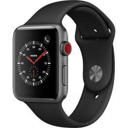 Apple Watch Series 3 Gps Cell 42Mm Grey Alu Black Band