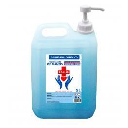 Garrafa 5 Litros Gel Hidroalcohólico Con Dispensador Dosificador