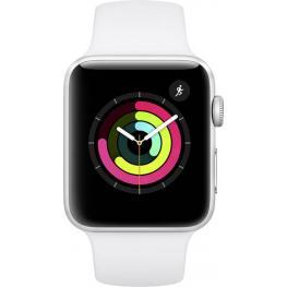 Apple Watch Series 3 Gps 42Mm Silver Alu White Sport Band