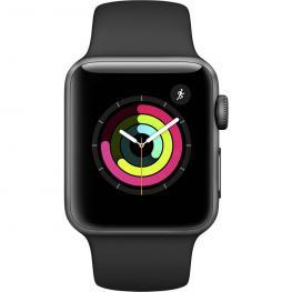 Apple Watch Series 3 Gps 38Mm Grey Alu Black Sport Band