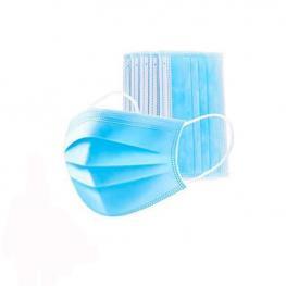 Mascarilla Higienica de 3 Capas Caja 50Uds