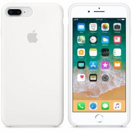 Apple Iphone 8 Plus / 7 Plus Silicone Case Blanco
