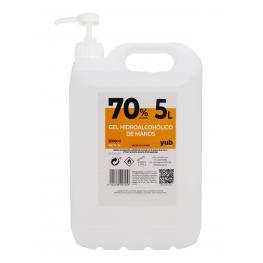Gel Hidroalcohólico 70% Garrafa de 5 Litros Con Dosificador