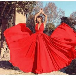 Vestido Gloria Rojo